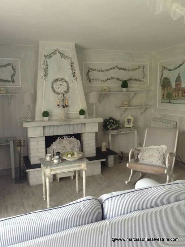 Pin by marianne lopez-hostailler on SALON - LIVING SHABBY SALLE A