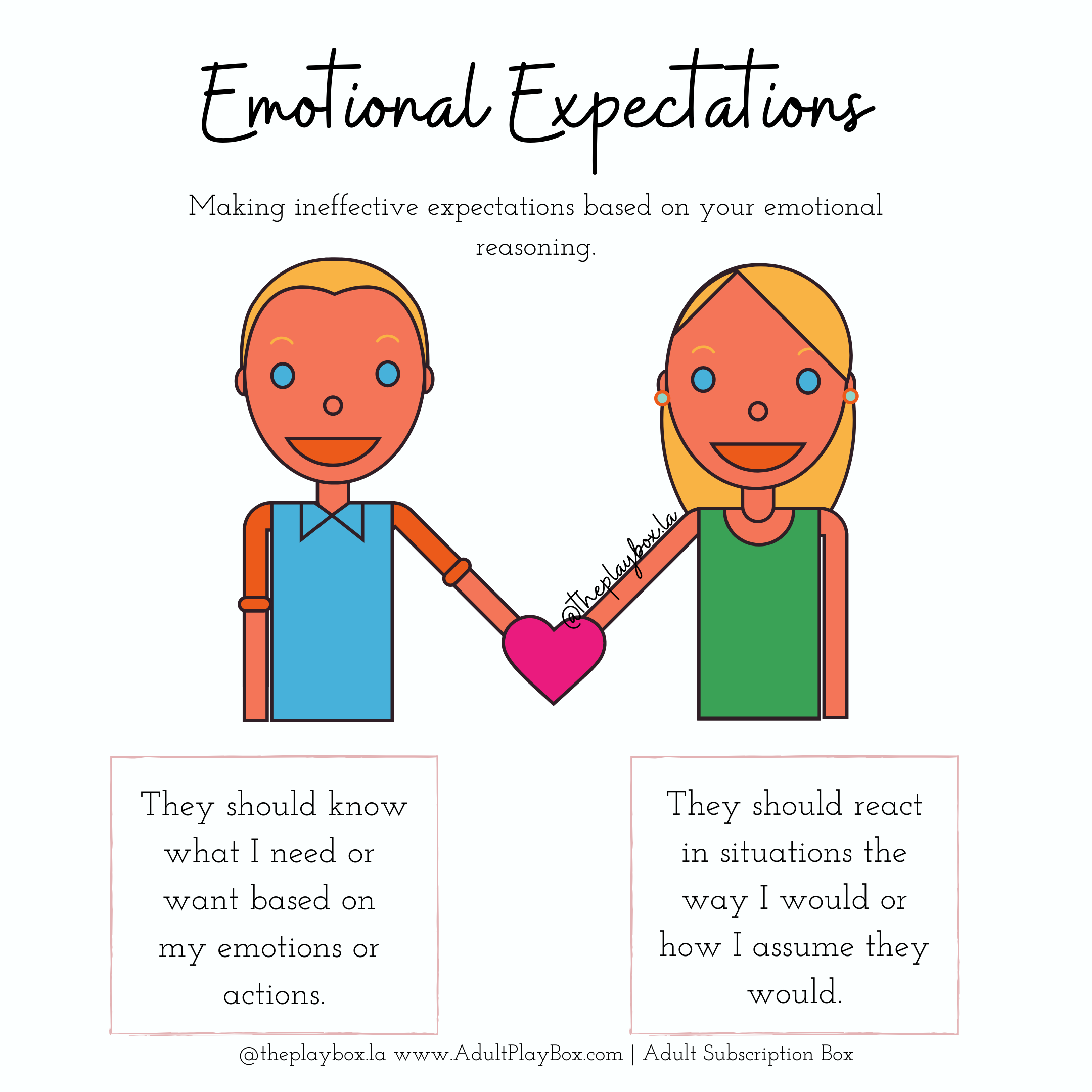 Emotional Expectations  #howtodisguiseyourself Emotions can often disguise our thoughts, feelings, expectations, and actions in truth. #howtodisguiseyourself