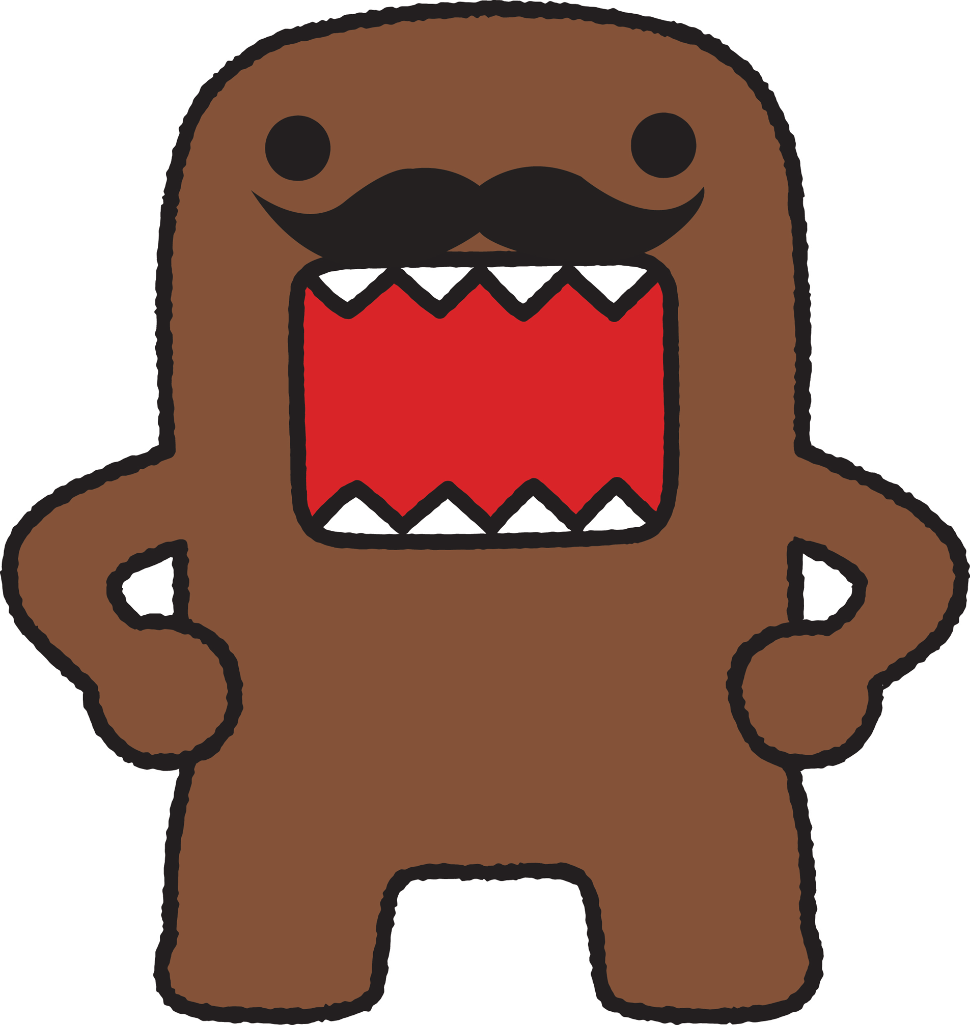 domo mustache - Google Search | Birthday Ideas | Pinterest ...