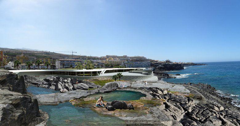Regeneración del litoral en el entorno de la Plaza de Puerto Santiago, 2014 - EVM RED