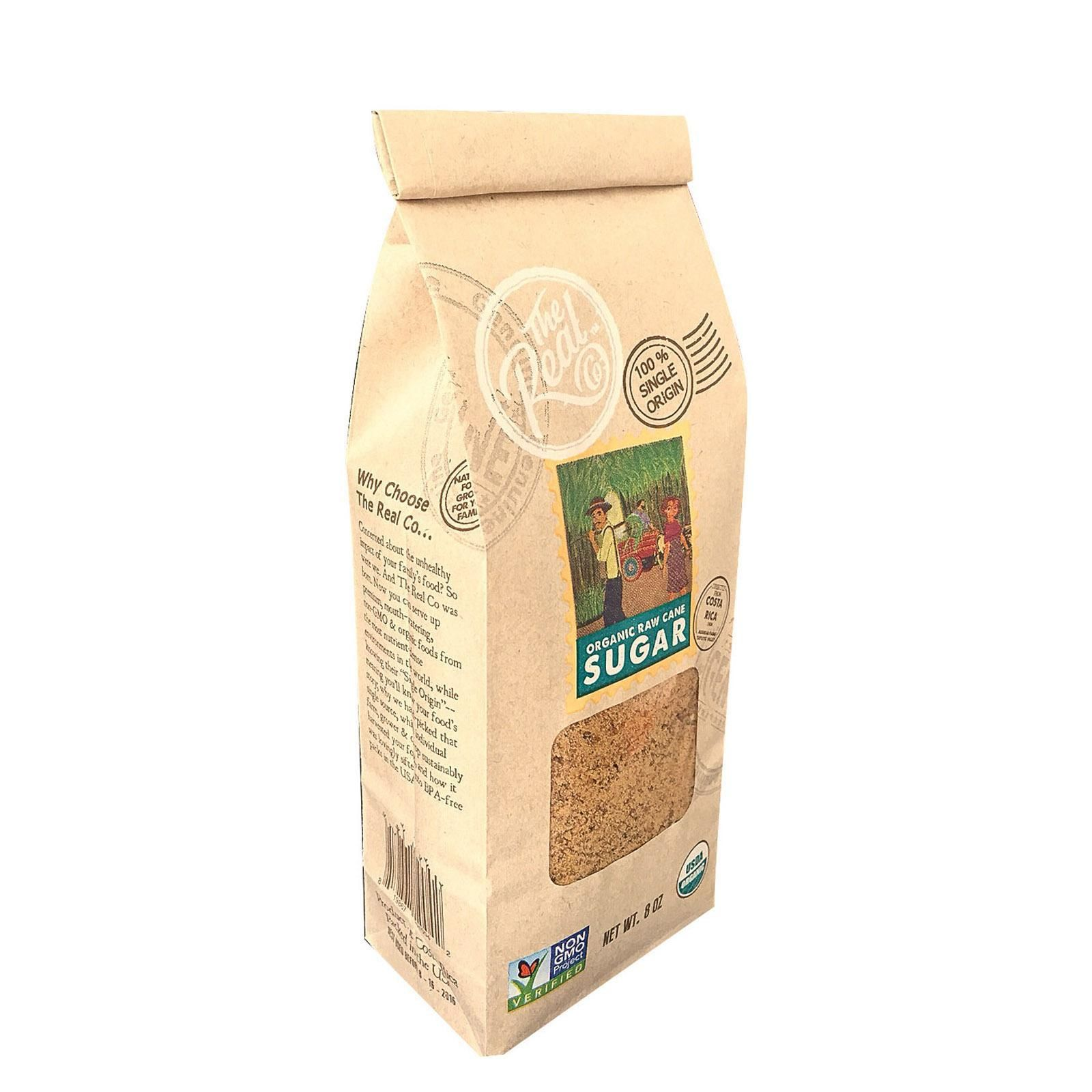 The Real Company Raw Cane Sugar Case Of 6 16 Oz All
