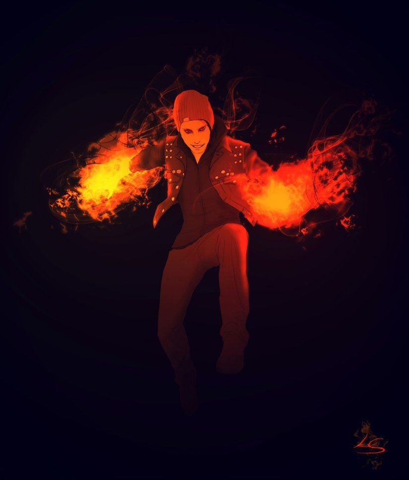 Light Em Up By Glowsydoodles On Deviantart Infamous Second Son