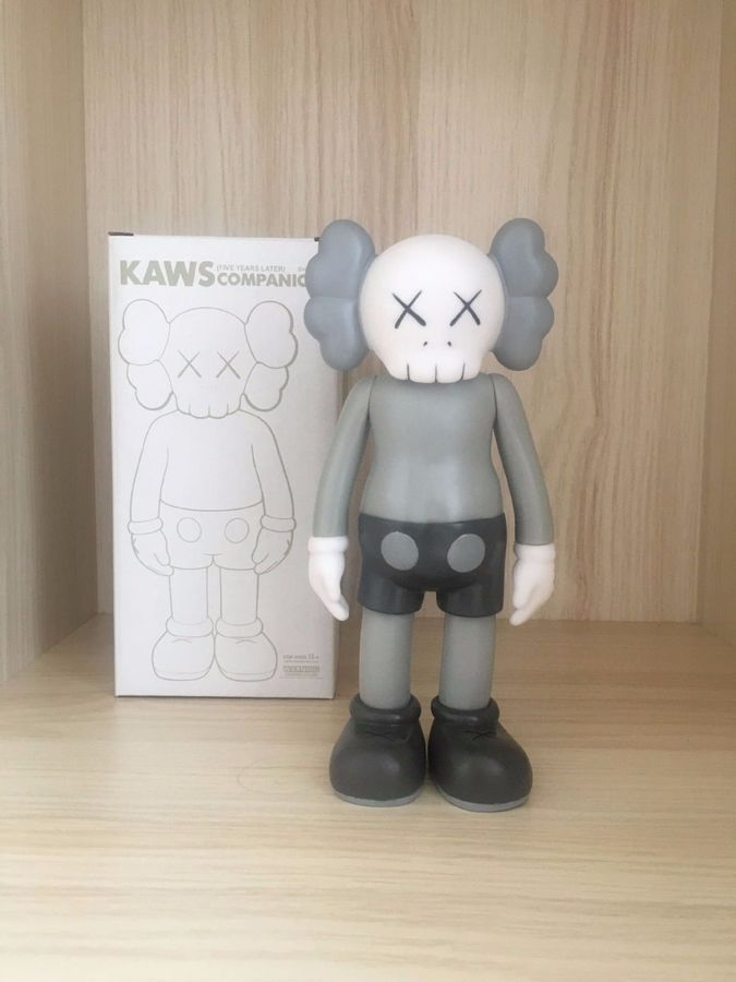 8 Inch  KAWS BFF Companion Action Figures Toy Half Dissected  With Box