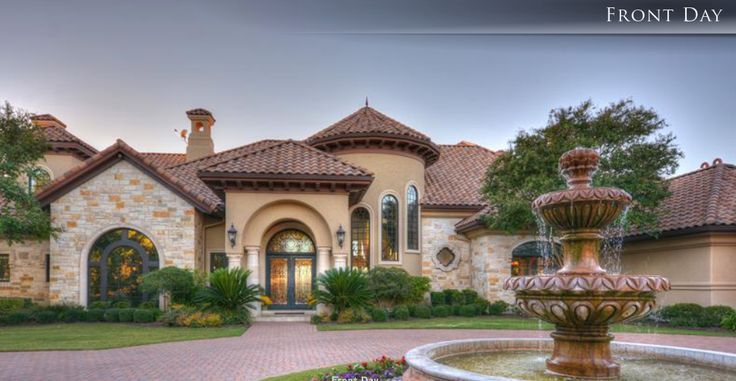 Texas Style Homes | Mediterranean Style Home, Austin, Texas