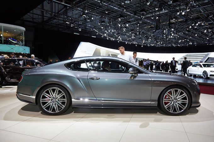 Bentley Continental GT Speed Coupé, Genfer Autosalon, Messe, 2014