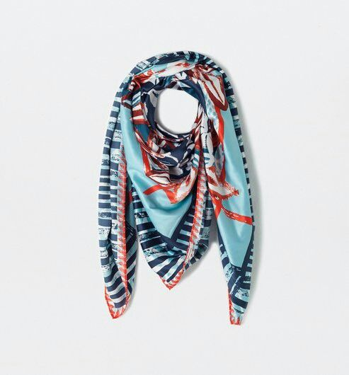 nouveau sommet meilleur choix aperçu de Foulard Promod | Foulard, Idées de mode et Foulards imprimés
