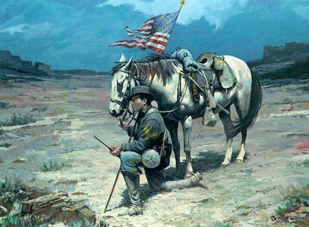 the history of the buffalo soldier The civil war the buffalo soldiers played a major role war in this war although they weren't allowed in either side's army the first side to allow black people into their army was the union army.