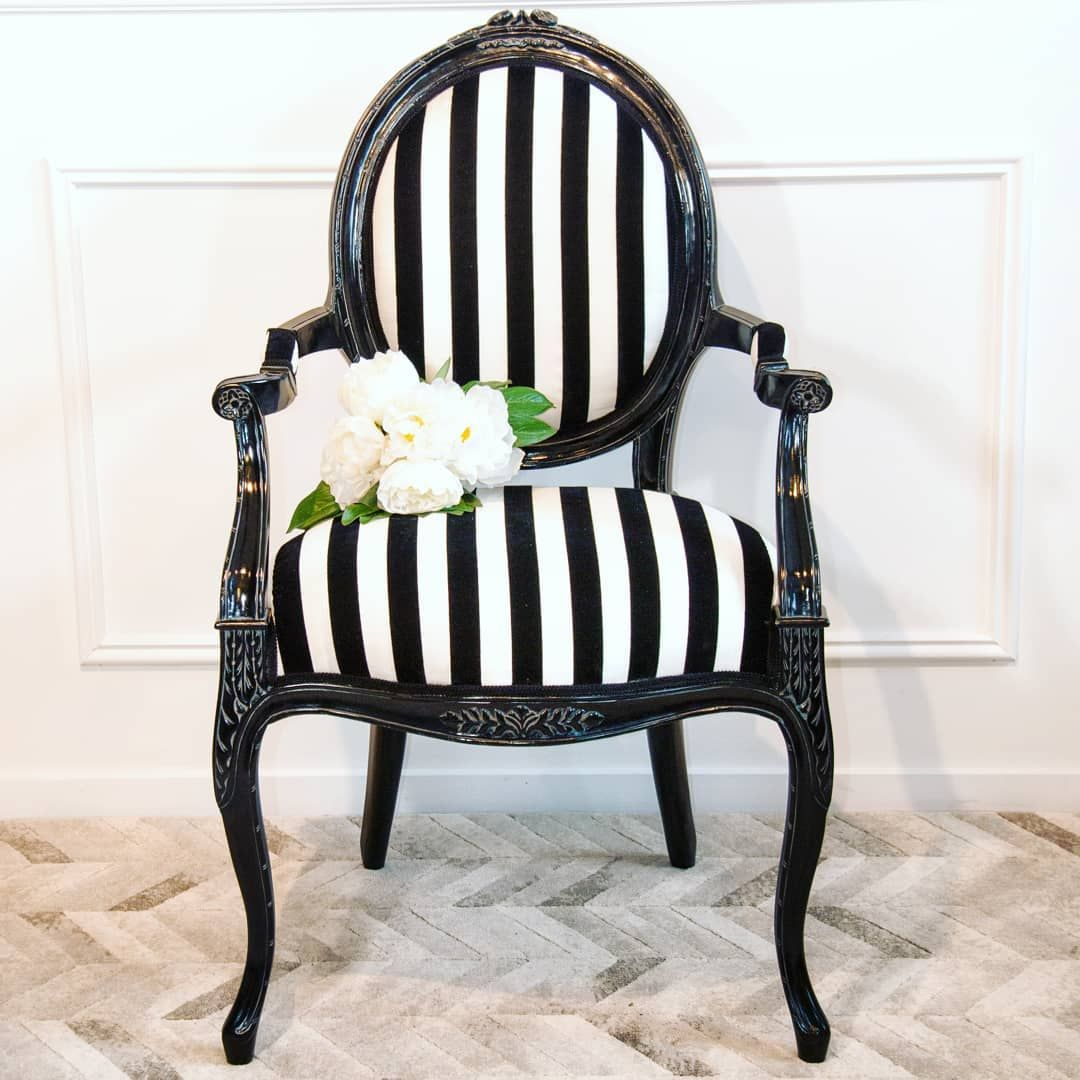 Black and White will never go out of style. #lamaisonboutique #blackandwhite #blackandwhitefurniture #fr… | Black and white furniture, White armchair, Furniture nz