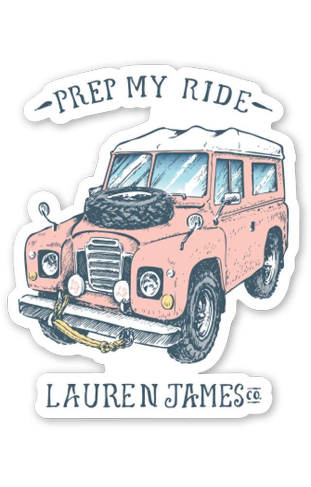 Prep My Ride Sticker From Lauren James Co To Buy