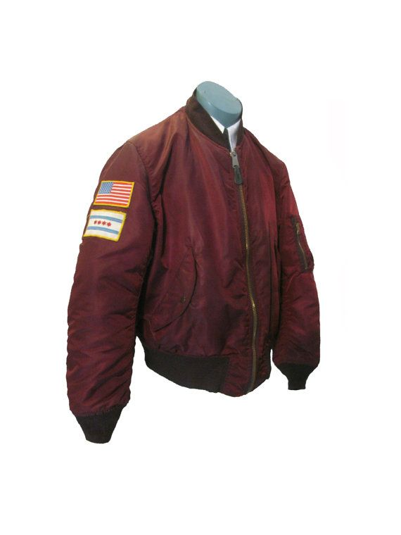 Mens MA-1 Alpha Bomber Jacket Vintage Old School by Atomicfireball ...