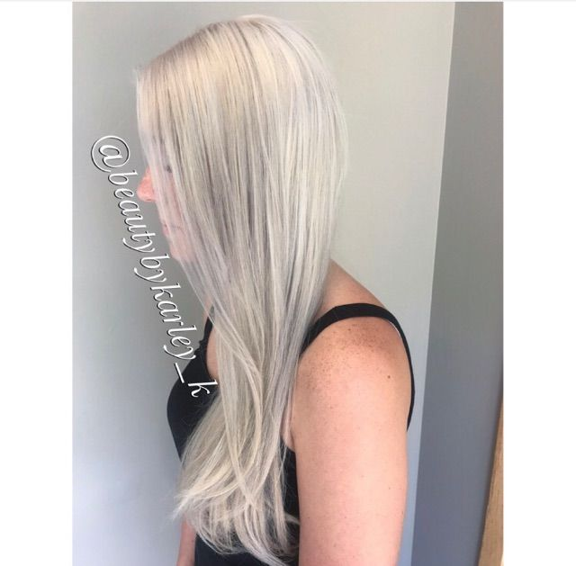 Bleach And Tone Blonde Redken Color Color Design By Karley Our