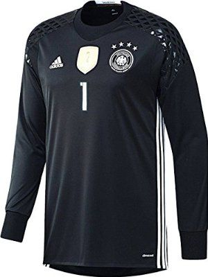 4080087f5 Germany Home Neuer  1 Goalkeeper Jersey UEFA Euro 2016 ...