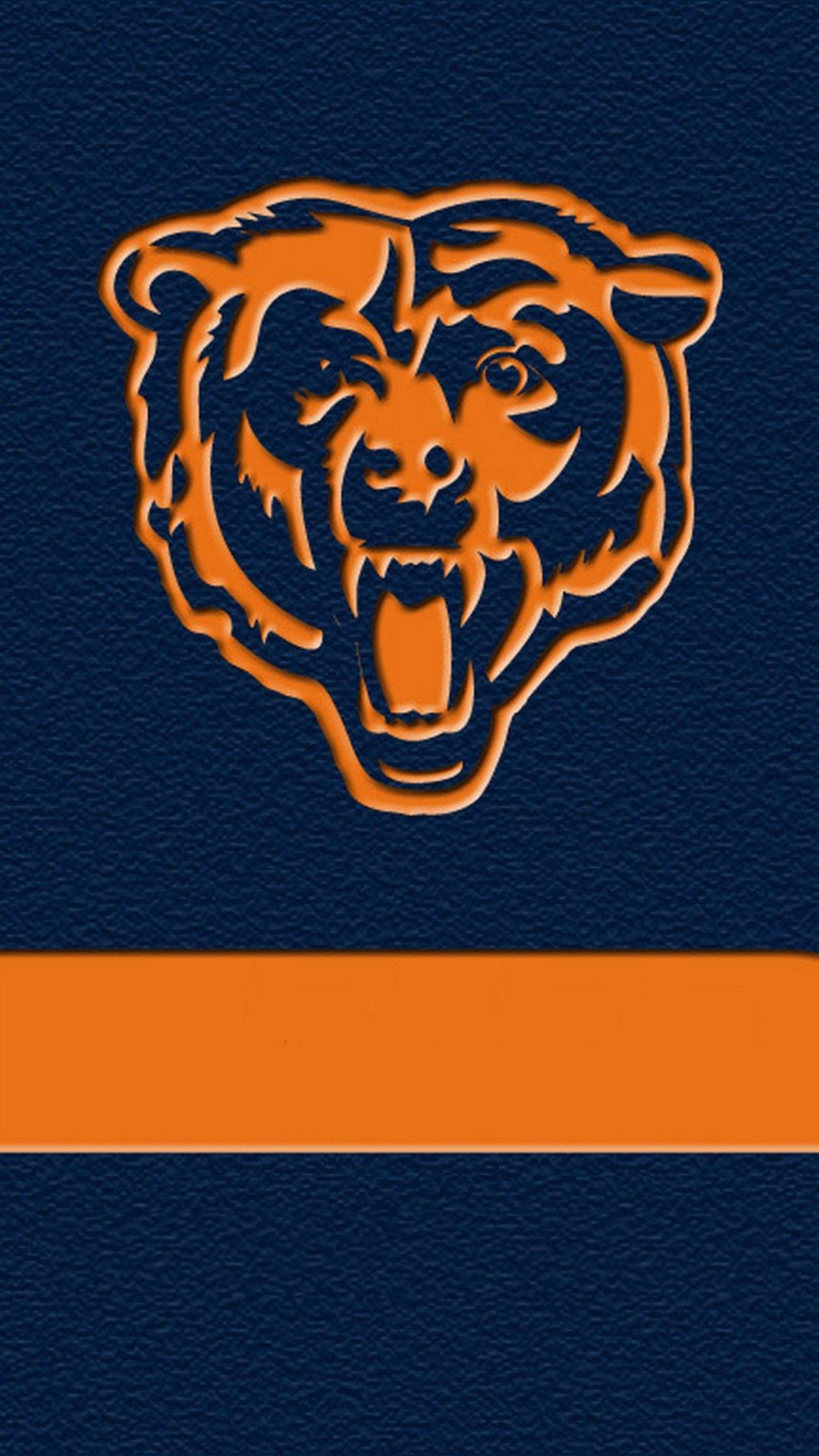 Chicago Bears Iphone 7 Wallpaper With High Resolution 1080x1920 Pixel Download And Set As Wallpaper F Nfl Wallpaper Chicago Bears Wallpaper Chicago Bears Logo