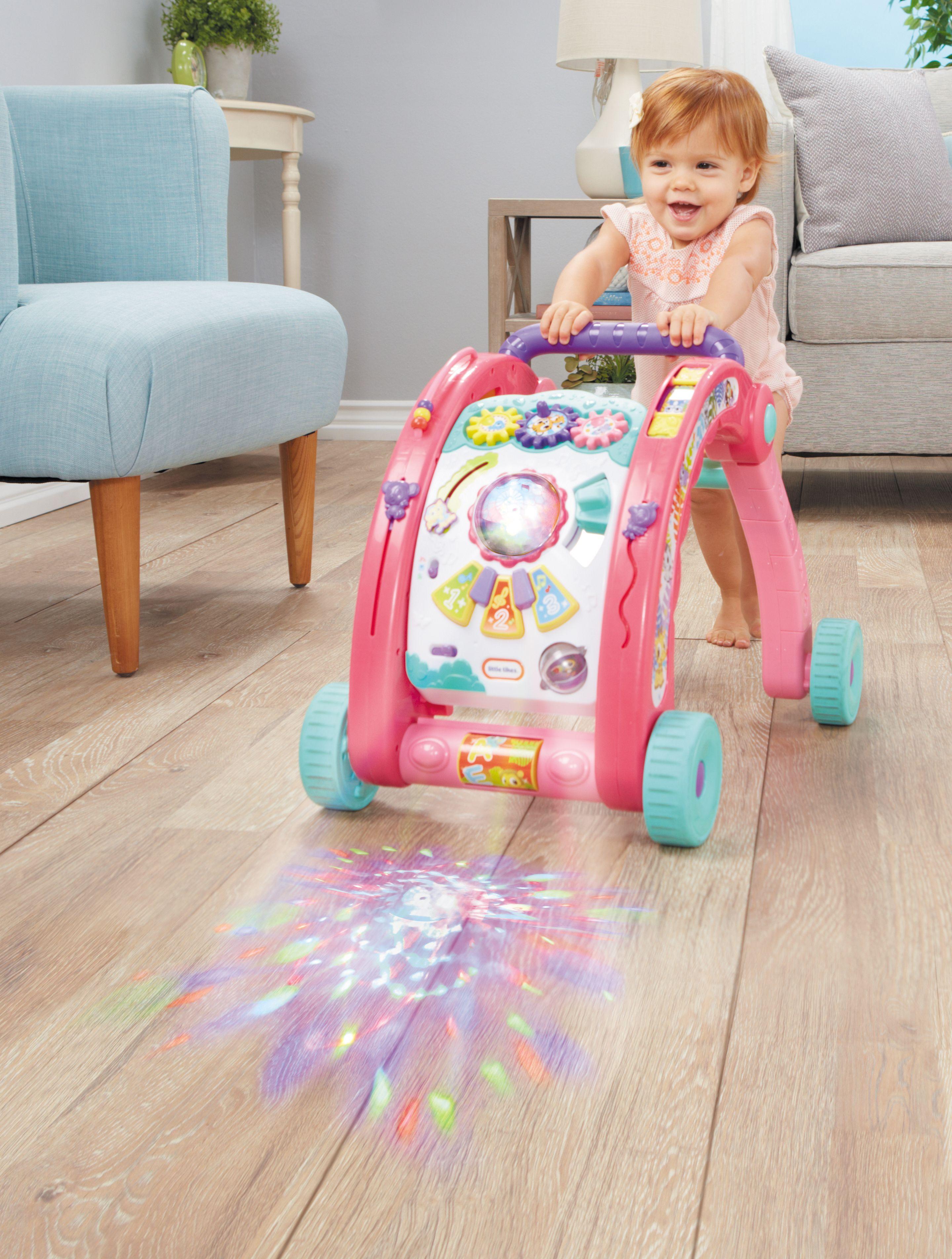 Light N Go 3 In 1 Activity Walker Pink Cool Toys For Girls