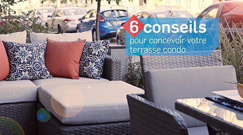 6 conseils pour concevoir votre terrasse condo amenagement de cour arriere backyard design pinterest amenagement de cour cour et arriere