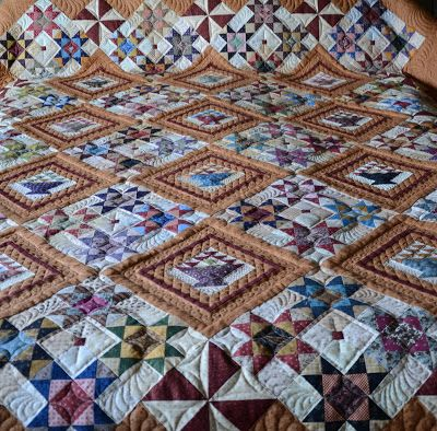 Sew'n Wild Oaks Quilting Blog: Butterscotch Baskets is Quilted ... : quilting and sewing blogs - Adamdwight.com