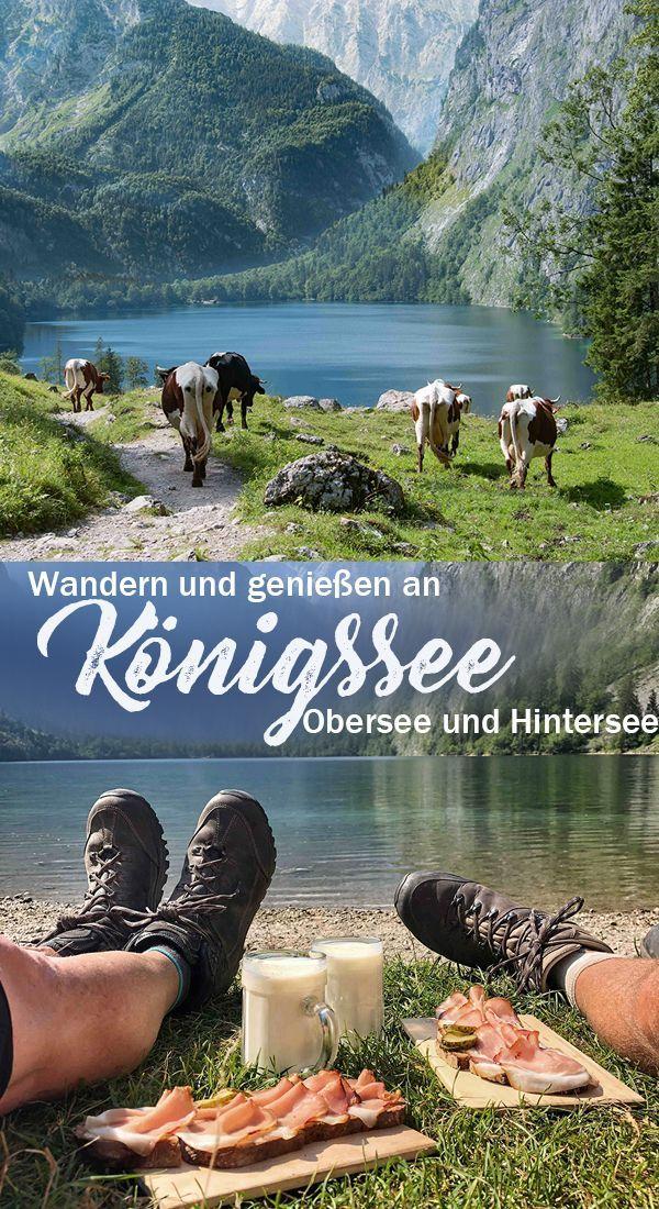 Königsee, Obersee und Fischunkelalm - Roadtrip 2018 - Teil III - Obazda