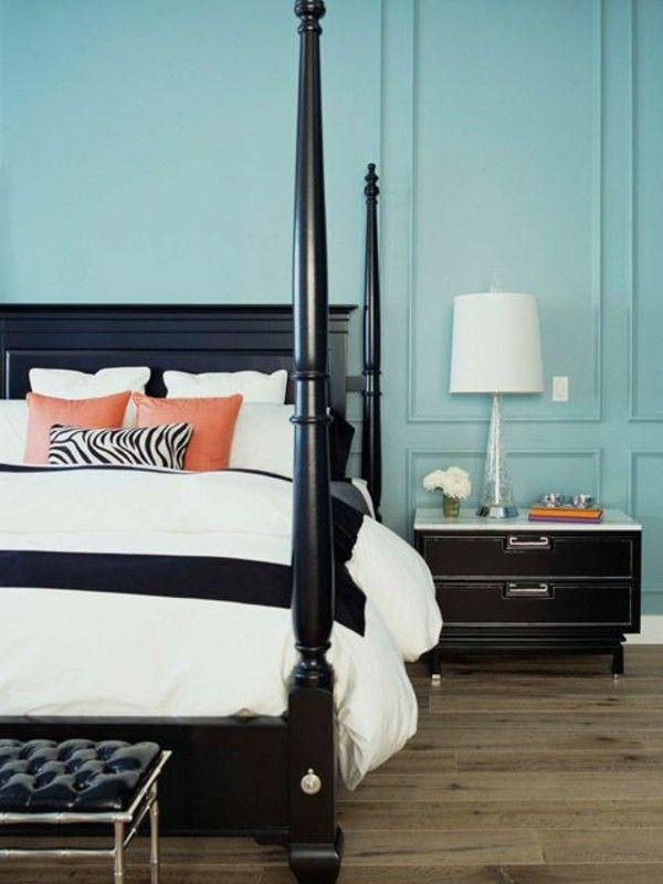 color ideas blue wall color bedpost black room color ideas rh pinterest com