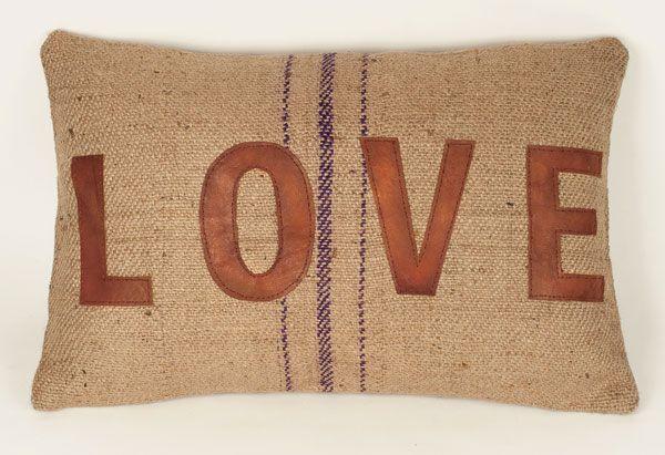 WholeSale Custom Burlap Pillow