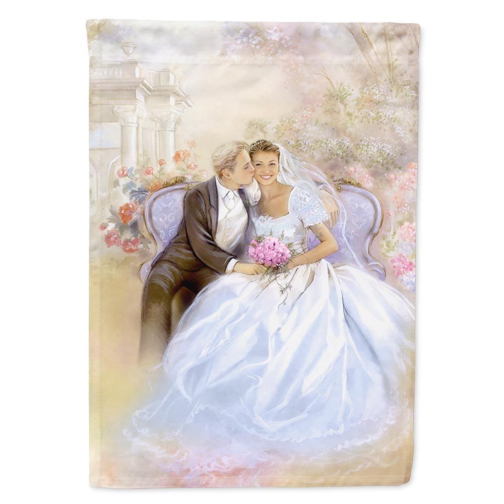 Caroline\'s Treasures 11 in. x 15-1/2 in. Polyester Wedding Couple ...