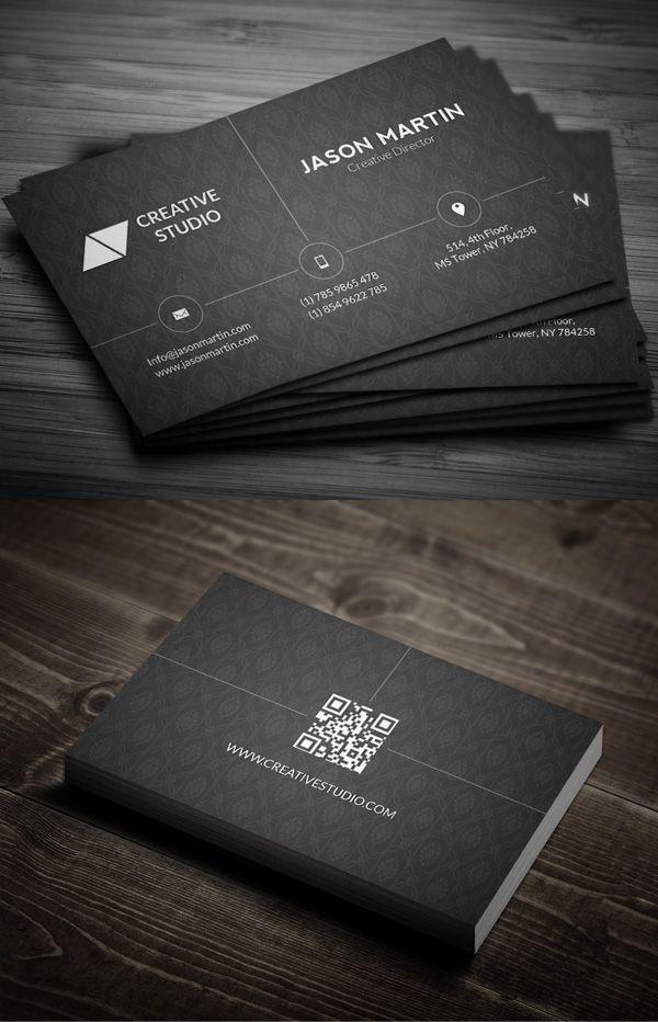 25 Elegant business card designs | Graphic design tools | Pinterest ...