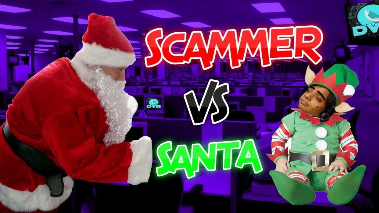 Santa Claus Calls Tech Support Scammers (With images