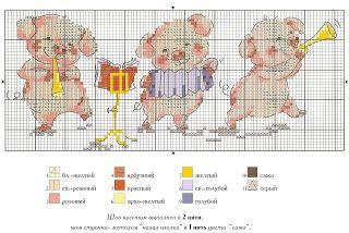 Atelier Colorido PX: Porquinhos músicos!
