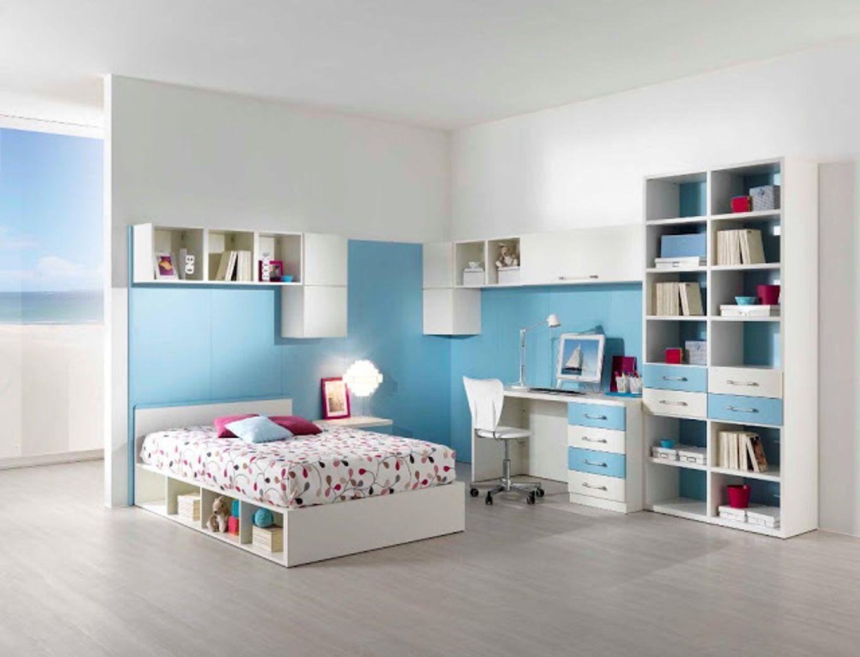 Incredible Chambre Ado Gris Et Bleu Peinture Chambre Idees Couleurs ...