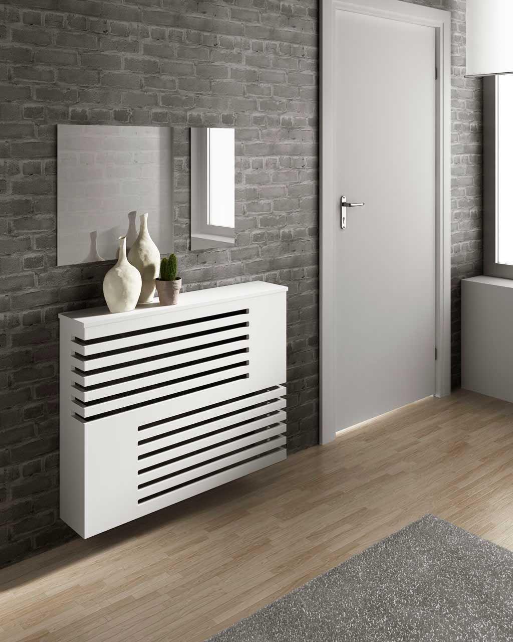 Cubreradiador serra blanco reformas pinterest blanco for Muebles cubreradiadores modernos