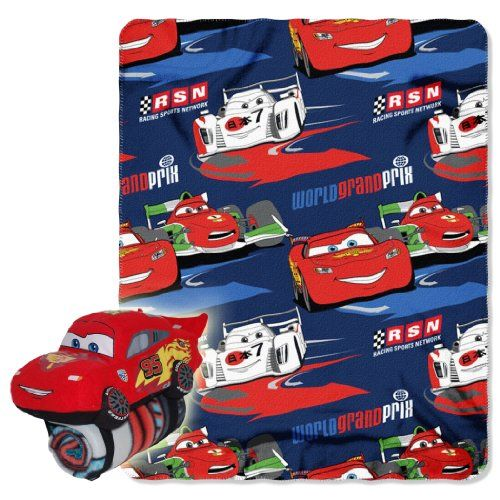Disney Cars 2 Acceleration 40inchby50inch Fleece Blanket With Character Pillow By The Northwest Company