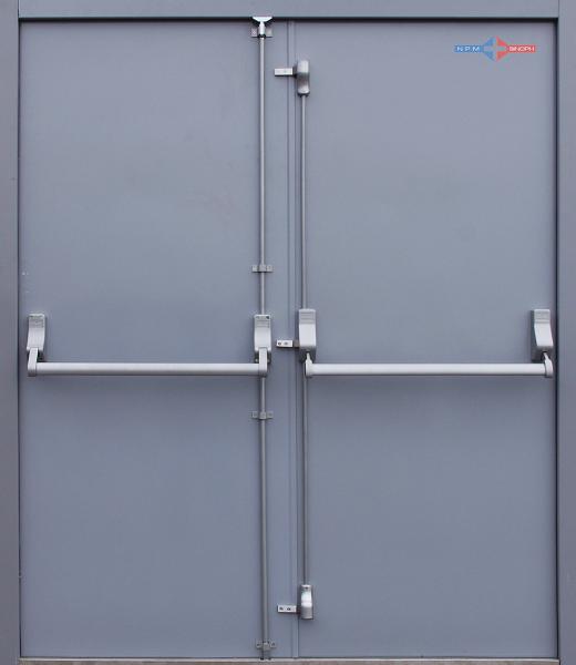 Double Fire Exit Door Back 0 Png 520 600 Pixels Steel Double Doors Door Sets Double Doors