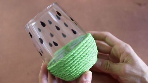 DIY Watermelon Drinking Glasses | DIY Home Decorations