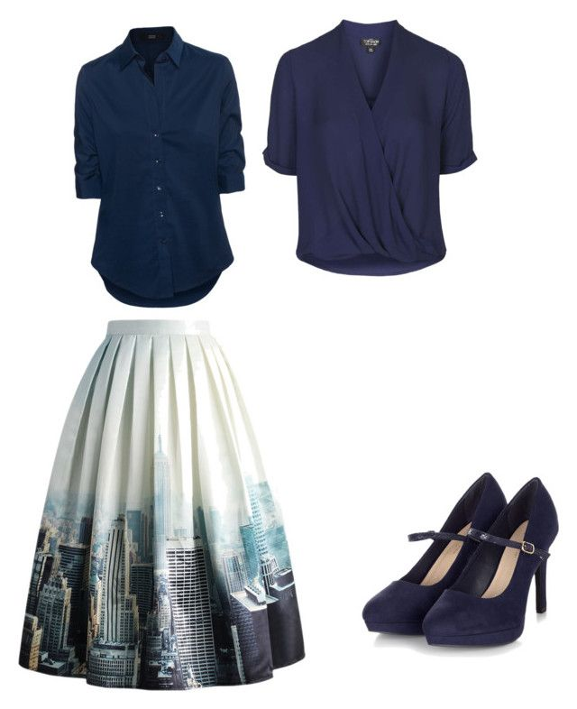 """""""Untitled #2"""" by kaitlyn-haynes-1 on Polyvore featuring Chicwish, Steffen Schraut and Topshop"""