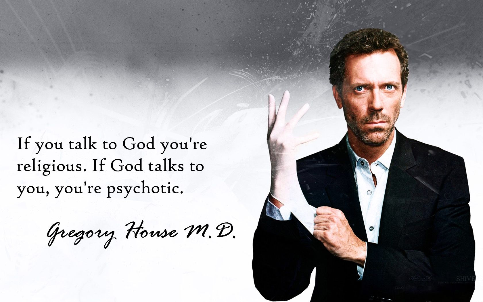 Dr House Quotes And Sayings 1680 X 1050 Wallpapers