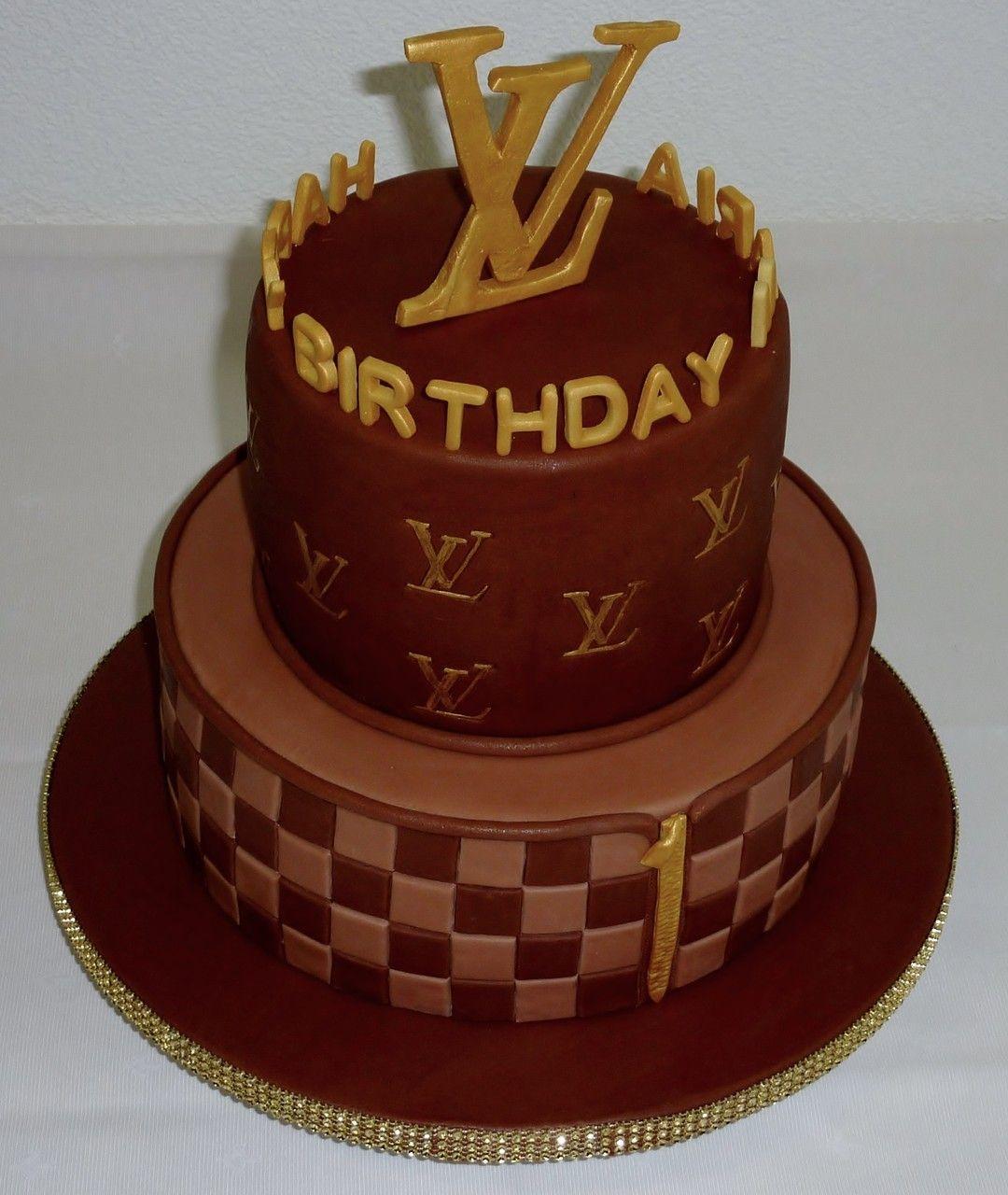 Louis Vuitton Cake 12th Birthday Cakes For Women Mum