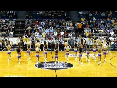Laker Girls Dancing 10-21-08 - http://nbajerseygirls.com/laker-girls-dancing-10-21-08/