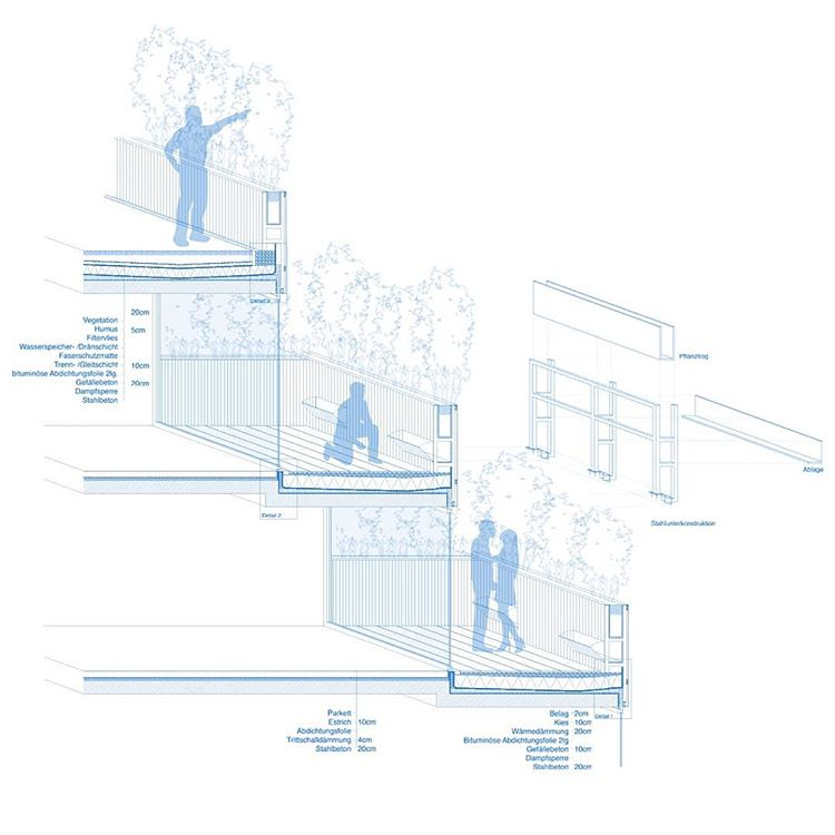 Pin By Josh Bash On Plans Sections And Diagrams In 2020 Terrace Building Tectonic Architecture Building Construction