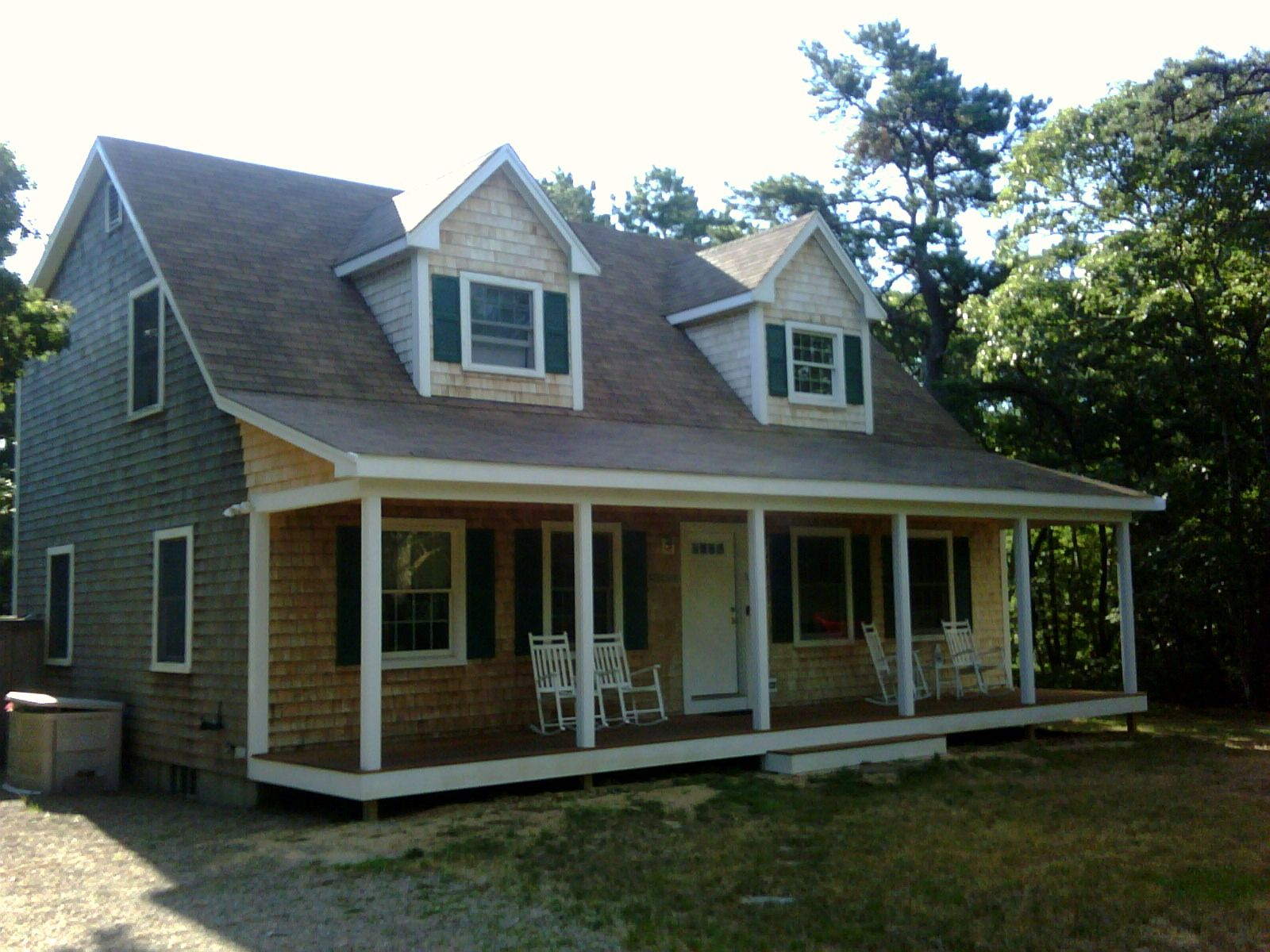 Cape Cod with Farmers Porch Pictures