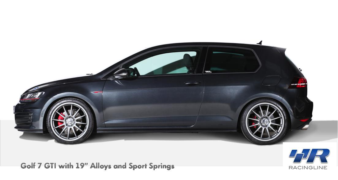 """Volkswagen Racing UK RacingLine 8.5"""" x 19"""" Gunmetal Grey"""