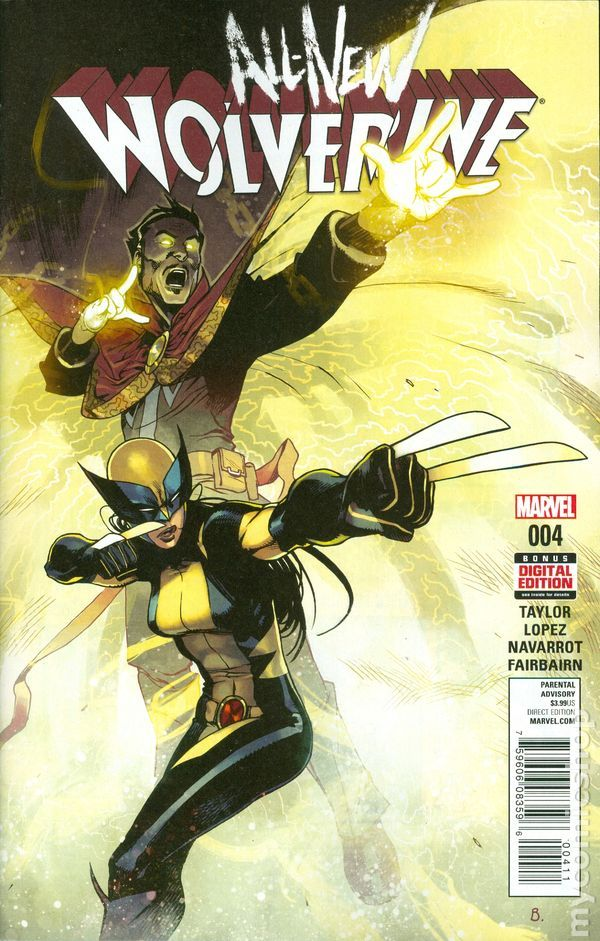 All New Wolverine (2015) 4A