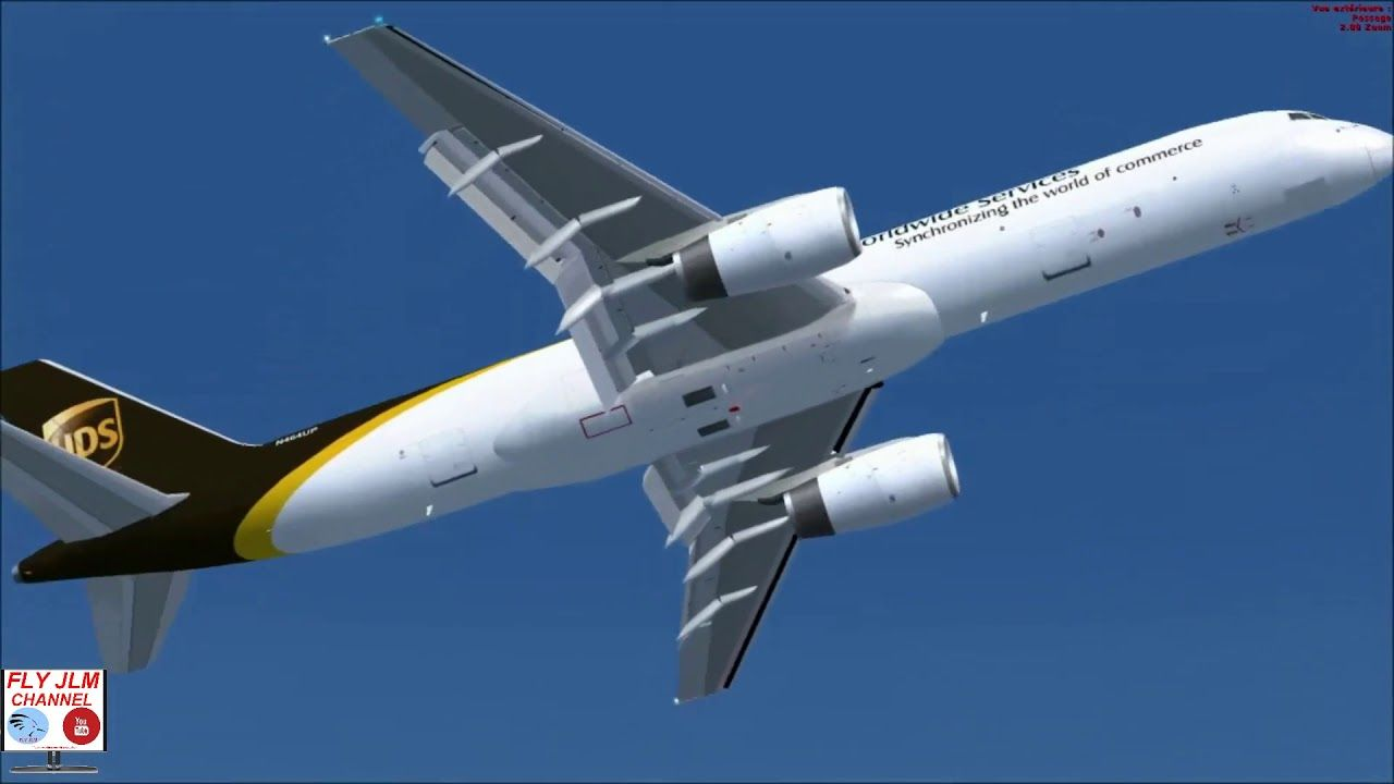Fsx Full Flight From Ushuaia To Buenos Aires With Boeing 757 Ups Cargo Ushuaia Boeing Buenos Aires