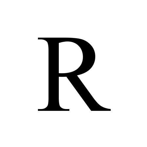 Times New Roman Regular R Letter R Tattoo Roman Tattoo Times New Roman