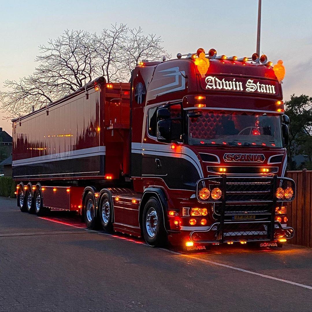 Adwin Stam On Instagram In 2020 Customised Trucks Big Rig Trucks Big Trucks