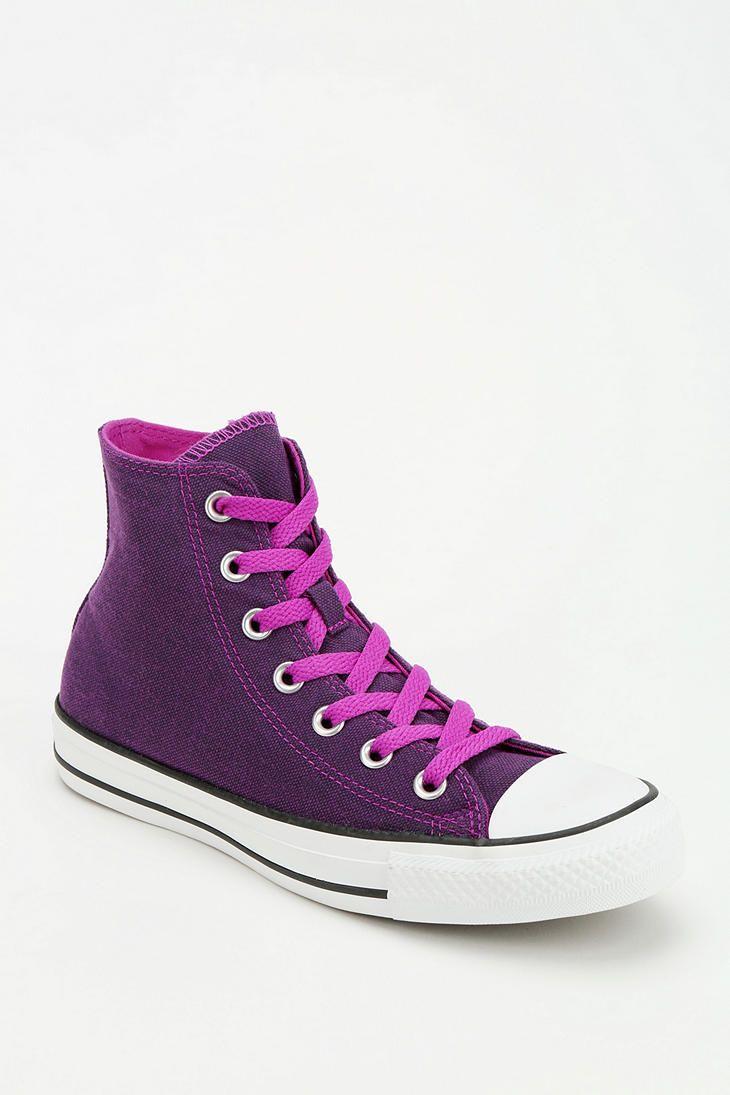 67b1a93a51ec Converse Chuck Taylor All Star Dark Wash Neon Women s High-Top Sneaker