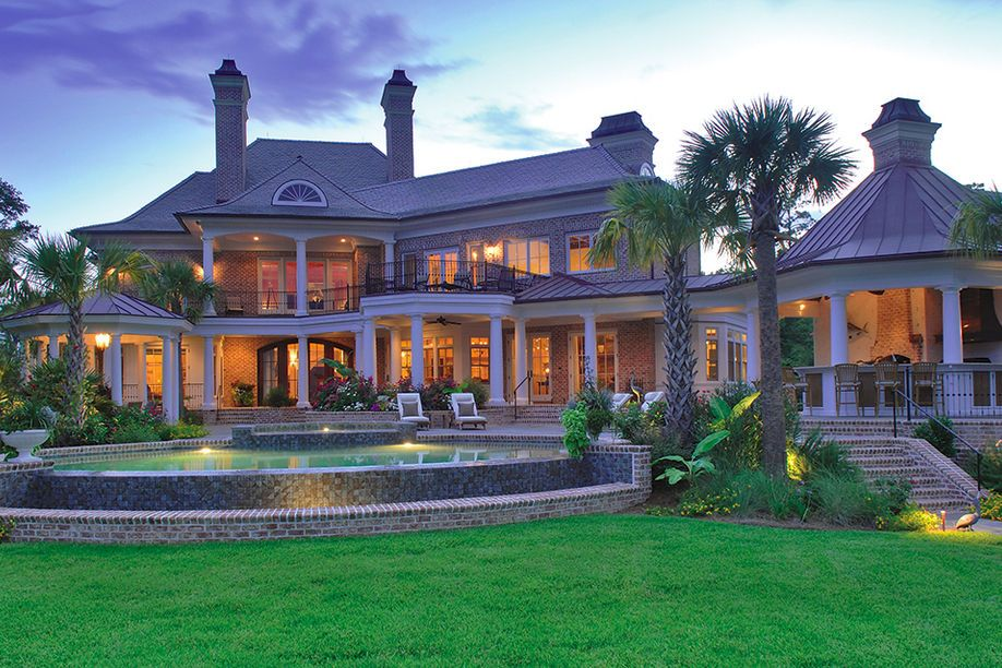 Stunning Classic Traditional Home Designs: Great Rivermeade Residence Design  Exterior Classic House Architecture | Outside Of My House | Pinterest ...