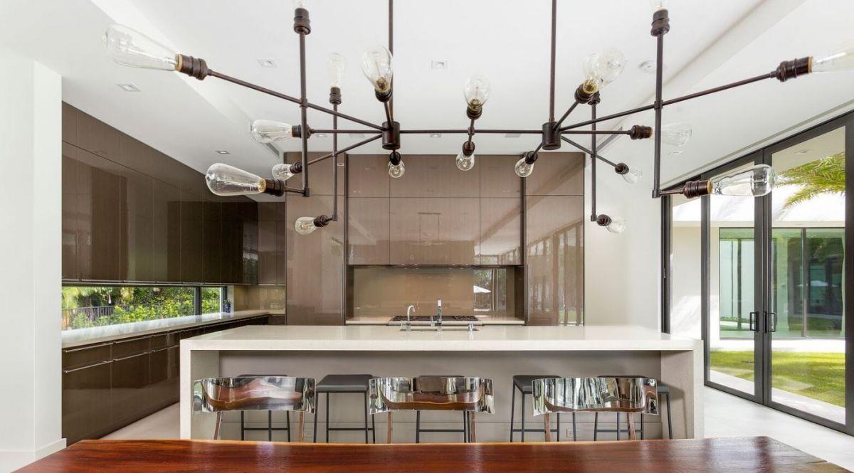 wired bronze high gloss dura supreme kitchen with talia door style