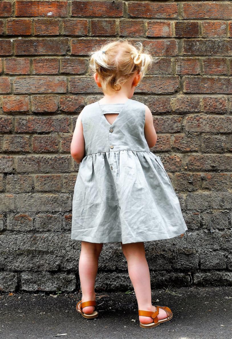 Handmade Linen Sundress   YouAreSmall on Etsy   Kleidung für ...