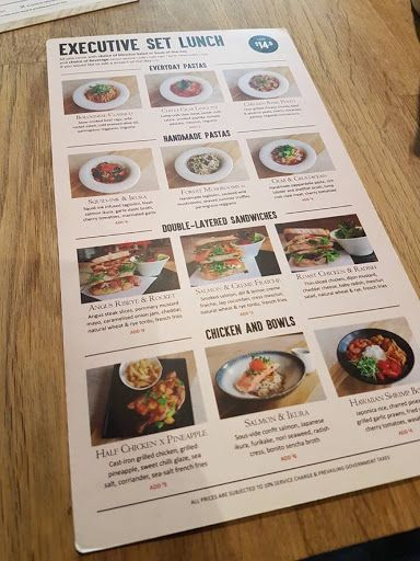 Executive Set Lunch From Platypus Kitchen At Bugis Junction Eat Foodie Lunch