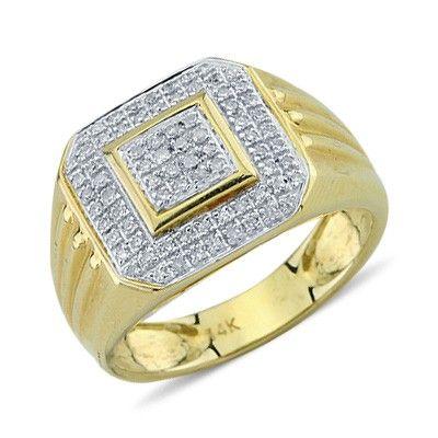 Amir Diamond Ring Studded Rings
