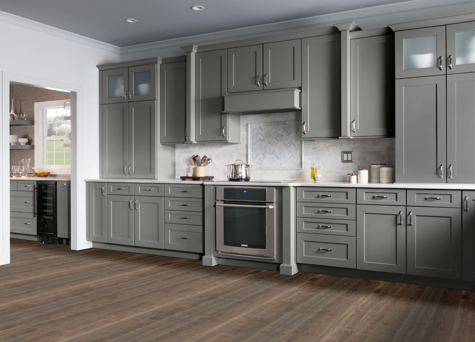 shenandoah cabinets mission shaker style kitchen cabinets kitchen cabinet styles kitchen on kitchen hutch id=19421